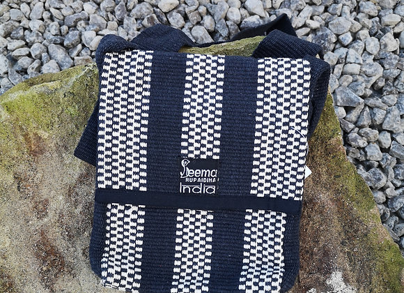 Maya Bag - Black & White Check