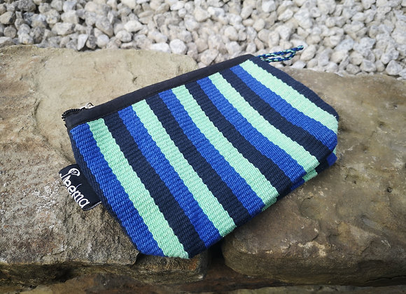 Small Pouch - Blues & Greens