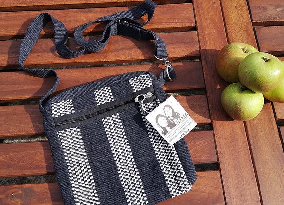 Aria Bag : Black & White Check