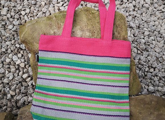 Small Tote Bag : Pinks & Greens