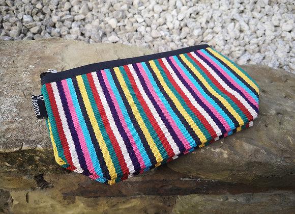 Medium Pouch - Vintage Stripes