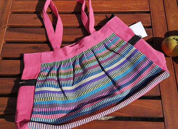 Gathered Bag : Pink