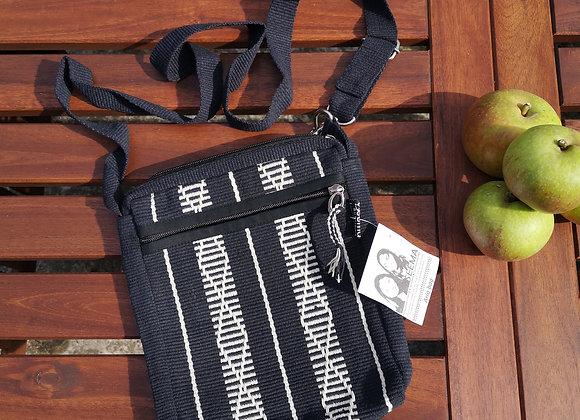 Aria Bag : Black & White Diamond