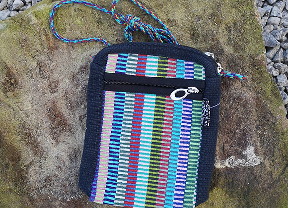 'Passport' Bag - Multi-Colored Check