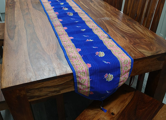 Table Runner - Recycled Saree