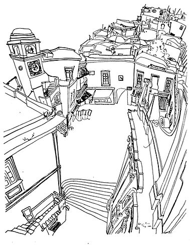 LINE DRAWING CAPRI 1949