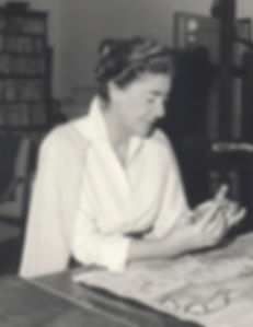 Laetitia Cerio working at Centro Caprense