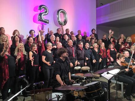 20 Jahre Choir under Fire - das Geburtstagskonzert