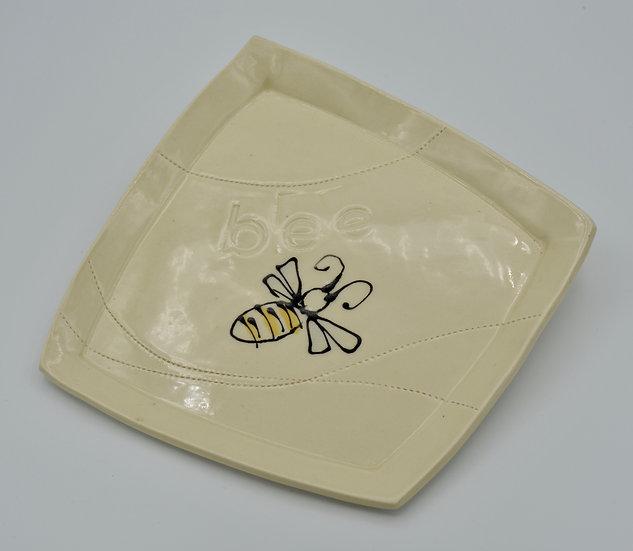 Bee Plate by Lee Stead