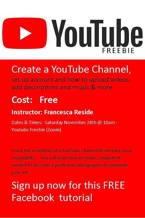 YouTube Freebie