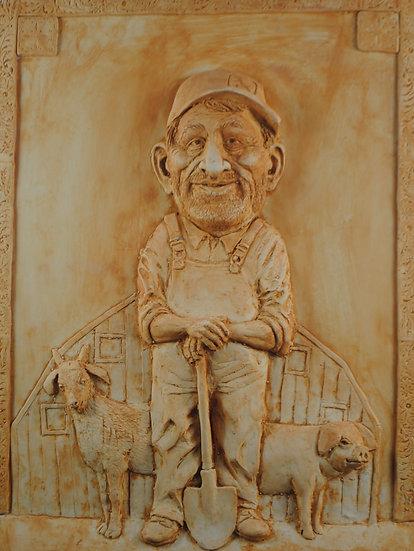 The farmer by Patrick Flavin