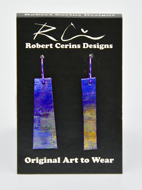 Earrings by Robert Cerins