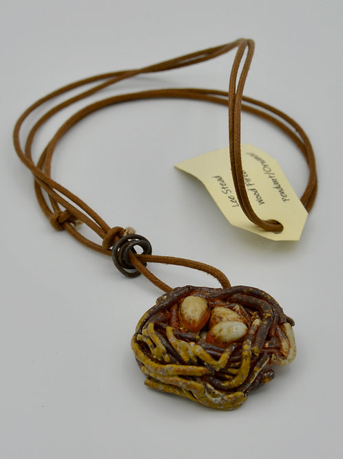 Nest pendant by Lee Stead