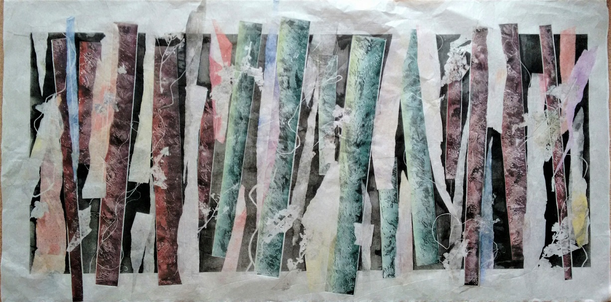 Untitled, Monotype, Rice Paper