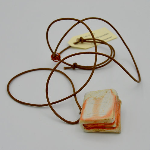 Book Pendant by Lee Stead