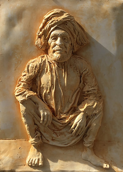 Man from Rajasthan by Patrick Flavin