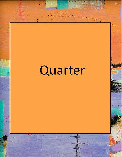 Quarter Page Advertisement