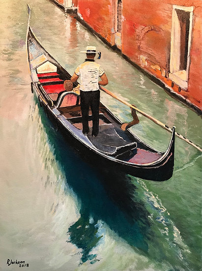 The Gondolier by Roger Jackson