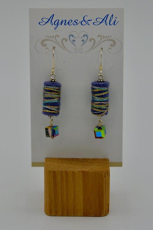 Felt Earrings by Gail Moyls