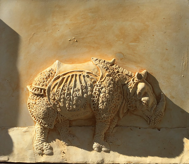 Durer's rinocerous by Parick Flavin