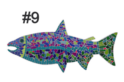 Fish #9 by Janise Johnson