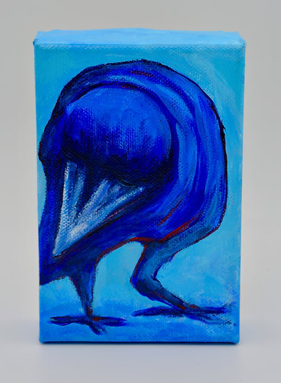 Blue Crow by Bonnie Schnitter