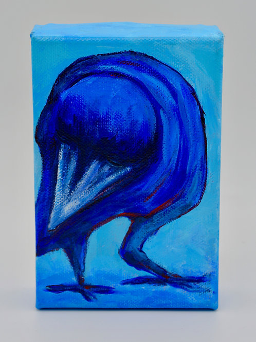 Blue Crow by Bonnie Schnitter