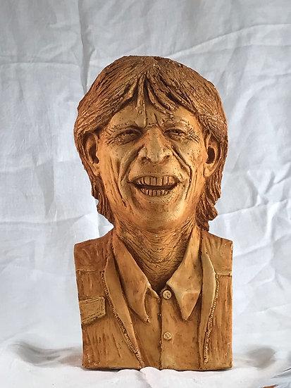 Mick Jagger Patrick Flavin by Patrick Flavin