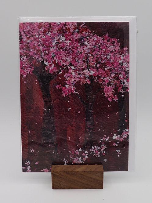 Cherry Card by Christine Earl