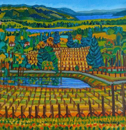 Averill Creek Winery #2 by Rohana Laing
