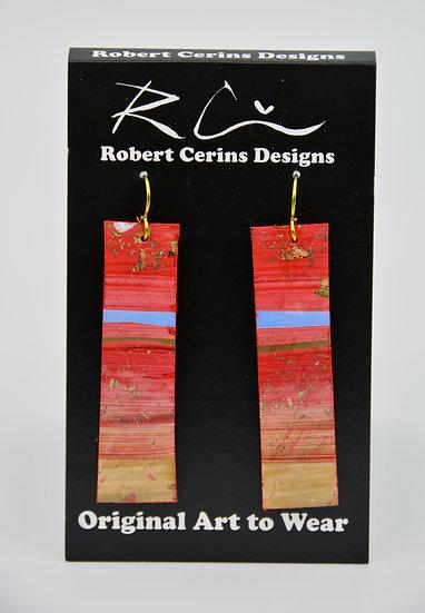 Earrings by Robert Cerins