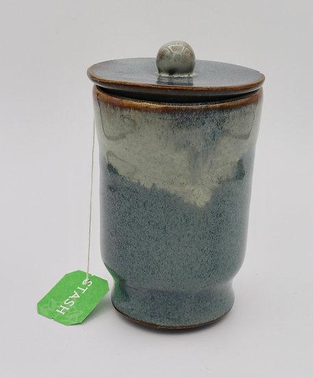 Tea Cup Blue by Dixie Borza