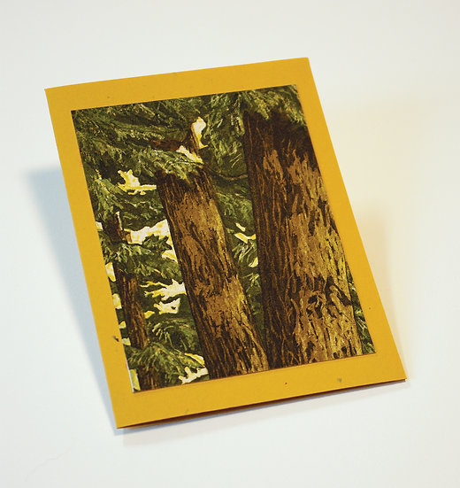 Forest Card 2 by Rita Loehr