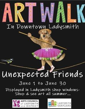 Art Walk 2021: Unexpected Friendships