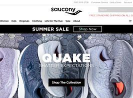 football cauals saucony