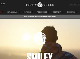 pretty green ss20