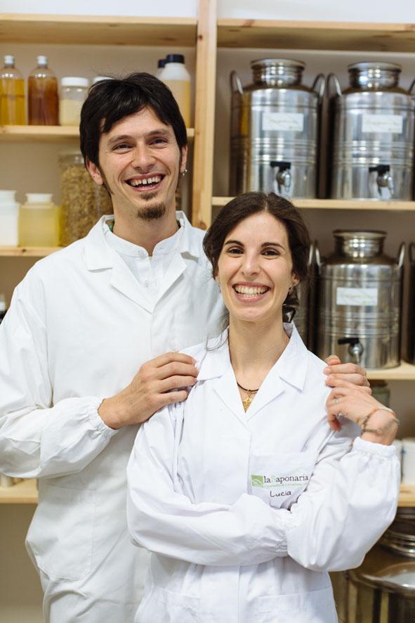 Lucia e Luigi de LaSaponaria