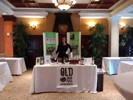 Old Sour Puss at Food Biz NJ conference