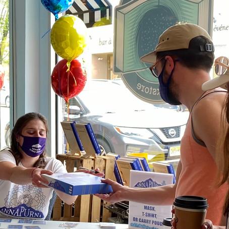 Words Matter Bookseller Welcomes Becca & Annapurna