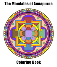 A Mandalas of  Annapurna Coloring Book.j