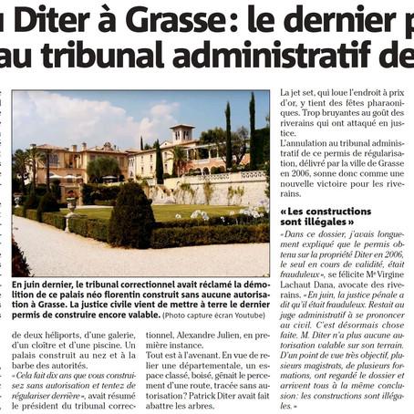 Château Diter : le dernier permis de construire annulé