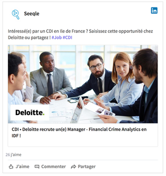 Seeqle recrutement vivier de talents