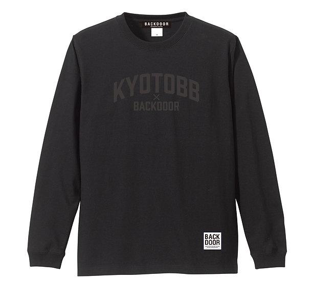 BKDR x KYOTOBB Long Sleeve Tee (black/black)