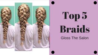 Top 5 Braids
