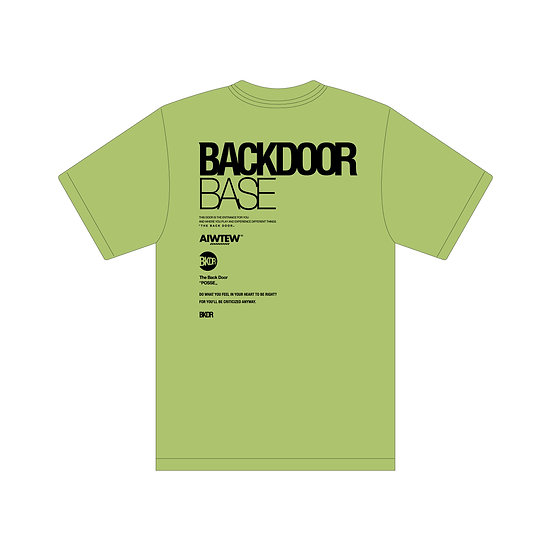 """Parallel All Logo Dry SS Tee """" BACKDOOR BASE """""""