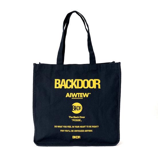 BACKDOOR All Logo Tote