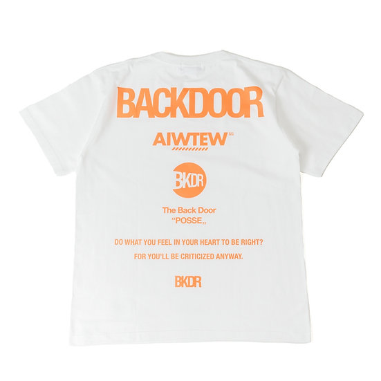 BACKDOOR All Logo SS Tee