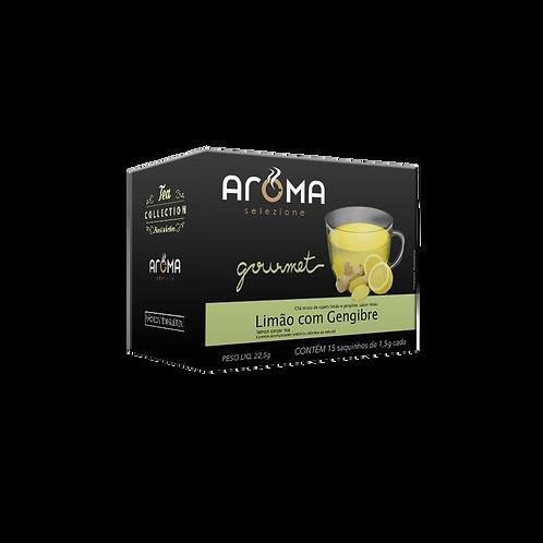 Chá em Sache Limão com Gengibre