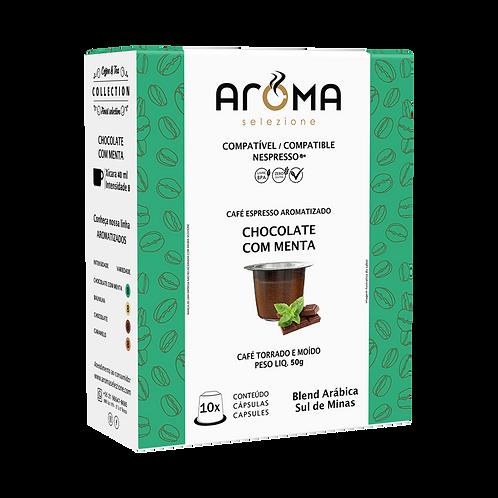 Espresso Aromatizado Chocolate com Menta