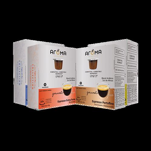Kit Espresso Gourmet - 40 Cápsulas